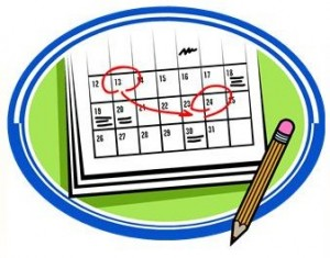 marketing plan calendar and pencil 300x235 Online Courses for 2012